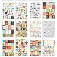 Carpe Diem Recipe A5 Stickers 12/Pkg