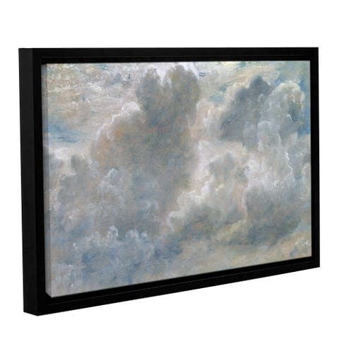 John Constable's Study of Cumulus Clouds, 1822, Gallery Wrapped Floater-framed Canvas