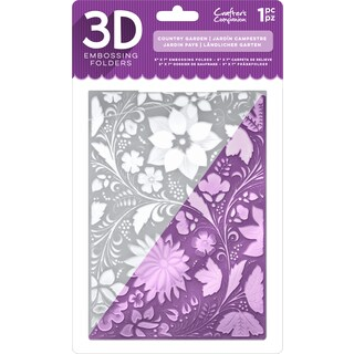 """Crafter's Companion 3D Embossing Folder 5""""X7"""""""