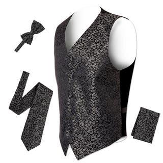 Ferrecci Mens 5 Button Adjustable Paisley Floral Design Vest Set https://ak1.ostkcdn.com/images/products/18220134/P24361729.jpg?impolicy=medium