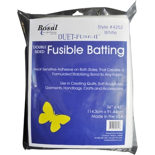 Duet-Fuse-II Double-Sided Fusible Batting