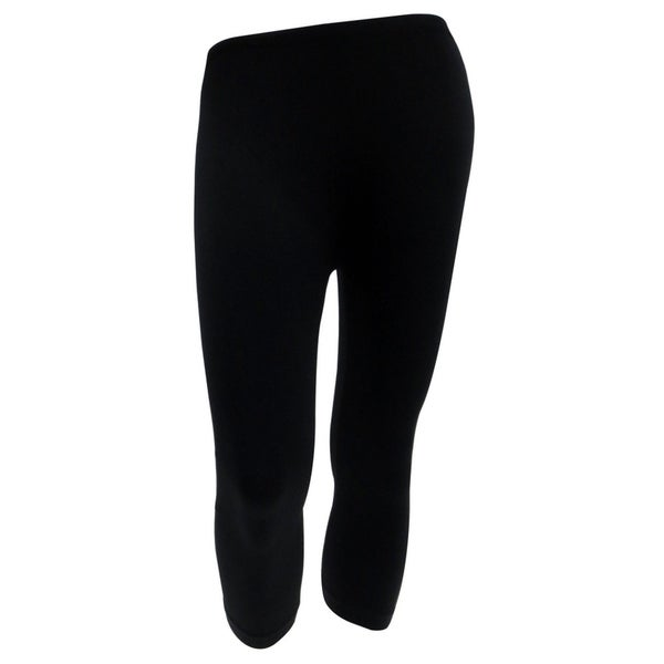 Women  x27 s Seamless High-Waist Yoga Athletic Leggings - Capri Length 986b87d290