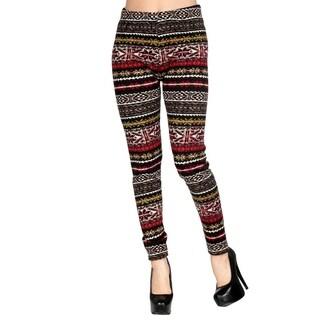 Women's Fur Lined Leggings - Assorted Styles (BM006, M)