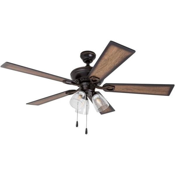 rustic wood ceiling fans light 52 shop