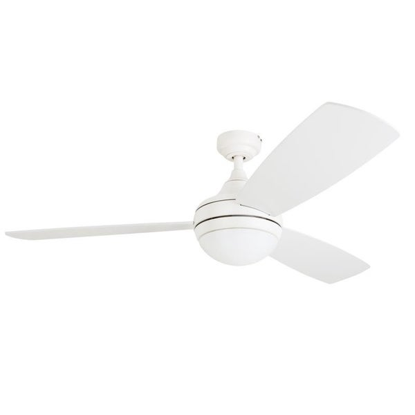 Clay Alder Home Nebeker 52 Inch Led Ceiling Fan With Remote Control White