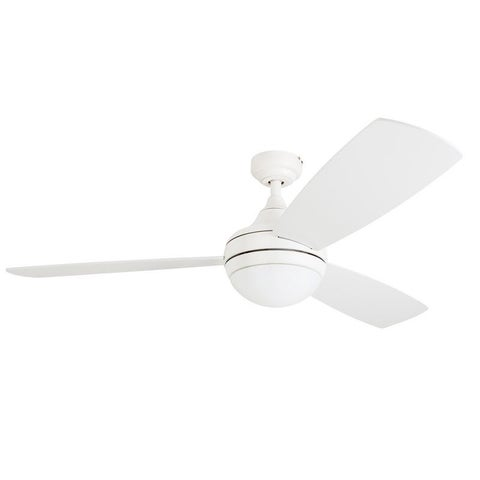 Clay Alder Home Nebeker 52-inch LED Ceiling Fan with Remote Control, White