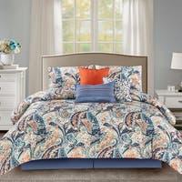 Wonder Home Bea 7PC Microfiber Printed Comforter Set