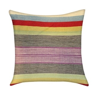 Multi Pasargad Vintage Kilim 18 Inches Throw Pillow