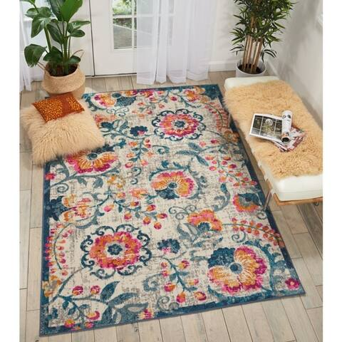 Nourison Passion Botanical Area Rug