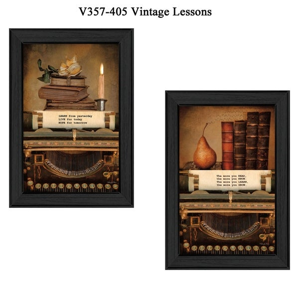 """Wall Hanging Lesson Plan: Shop """"Vintage Lessons"""" Collection By Robin-Lee Vieira"""