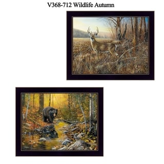 """Link to """"Wildlife Autumn"""" Collection By Jim Hansen, Printed Wall Art, Ready To Hang Framed Poster, Black Frame Similar Items in Outdoor Sofas, Chairs & Sectionals"""