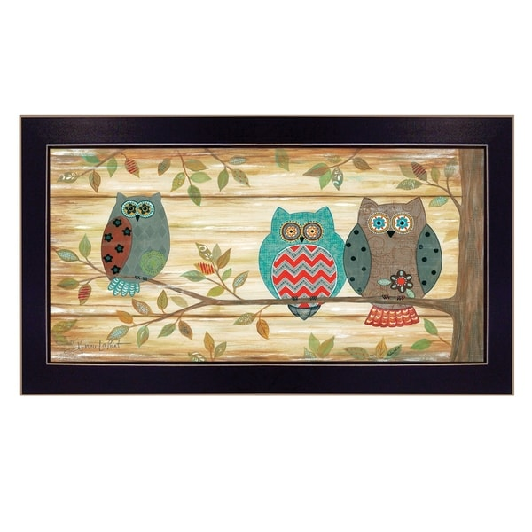 Shop Three Wise Owls By Annie Lapoint Printed Wall Art Ready To
