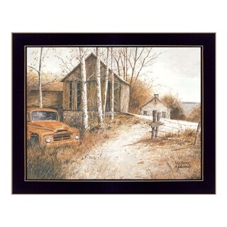 """Old Rusty"" By Ed Wargo, Printed Wall Art, Ready To Hang Framed Poster, Black Frame"