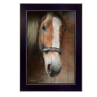 """""""Blaze"""" By Robin-Lee Vieira, Printed Wall Art, Ready To Hang Framed Poster, Black Frame"""