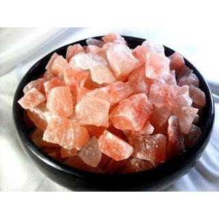 "Black Tai Salt Co's (Food Grade) Himalayan Crystal Salt Chunk Sole 40 Lbs Golf Ball Size 1""-2"""