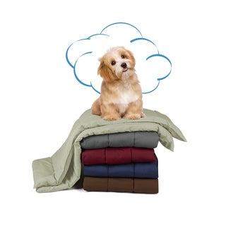Pet Comforter, Dogs and Cats Blanket and Throw - Lightweight, Durable, Washable, Hypoallergenic