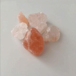 """Black Tai Salt Co. Brand Himalayan Pink Salt Stones - 5 POUNDS Food Grade - 1-2"""" Chunks - Not Fumigated, Natural, Vegan, Non GMO"""