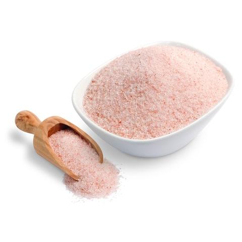 Handmade Food Grade 5 lb. Finely Ground Himalayan Salt (Pakistan)