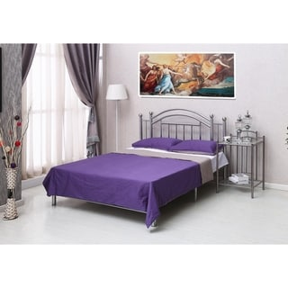 Home Source Kailyn Iron Bed - Queen