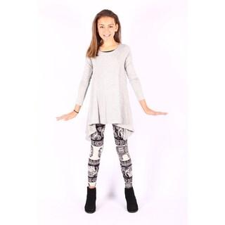 Gray Sidetail Tunic/dress