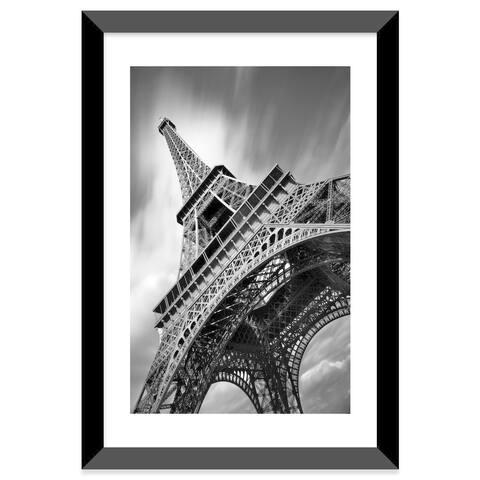 "iCanvas ""Eiffel Tower Study II"" by Moises Levy Framed Fine Art Paper Print"