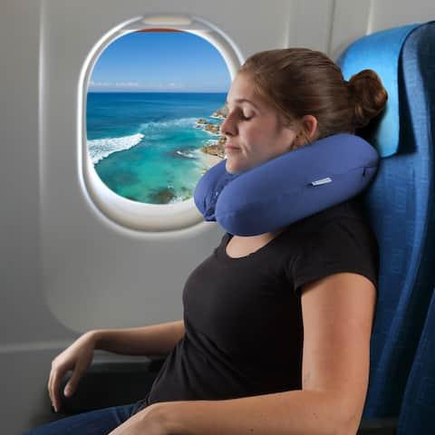 Windsor Home Memory Foam Travel Pillow