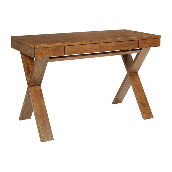 Ave Six Contemporary Solid Wood Lane Desk