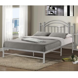 Home Source Bedroom Furniture Chrome Full Bed