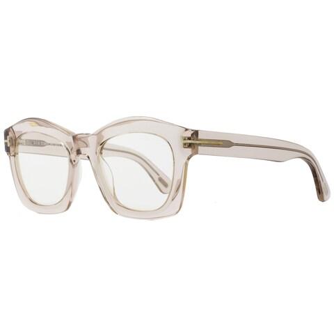 Tom Ford TF431 Greta 074 Women's Transparent Dove Gray/Powder Lens Sunglasses