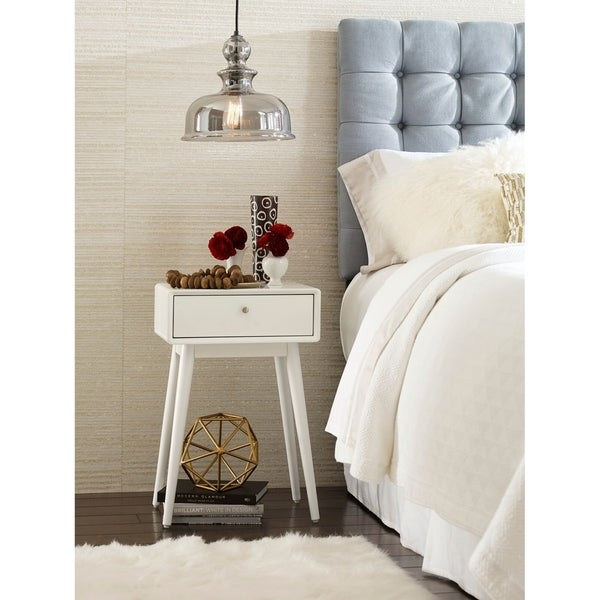 Elle Decor Rory One Drawer Side Table