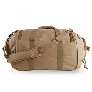Highland Tactical Squad 1.0 Heavy Duty Tactical Duffel Bag (Option: Brown)