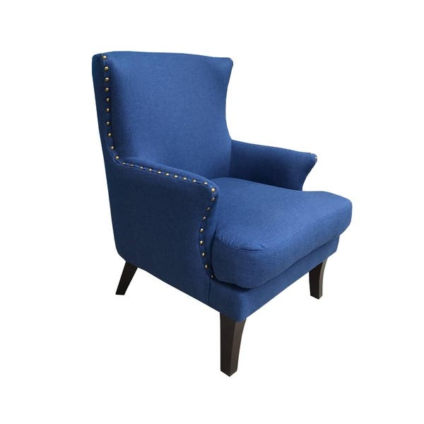 Shop Bethany Mid Century Modern Upholstered Wingback Accent