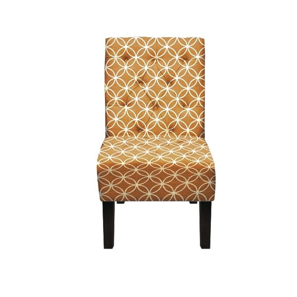 Shop Penelope Contempary Upholstered Armless Accent Chair