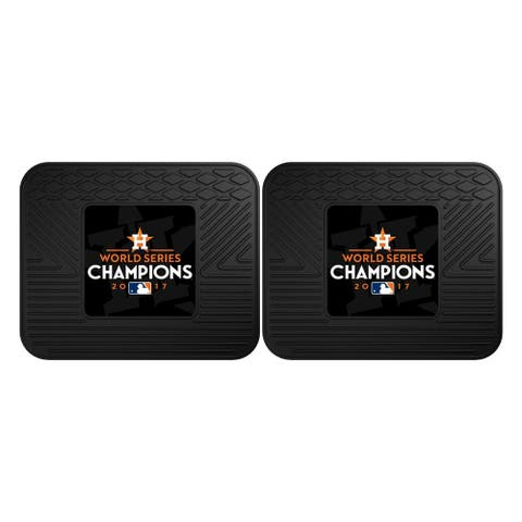 Houston Astros 2017 World Series Champions 2-piece Utility Mat
