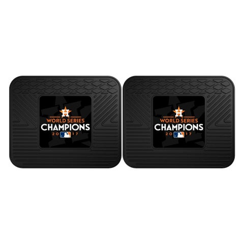 Houston Astros 2017 World Series Champions 2-piece Utility Mat