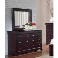 Stafford Java Birch-finish Wood/Metal Dresser