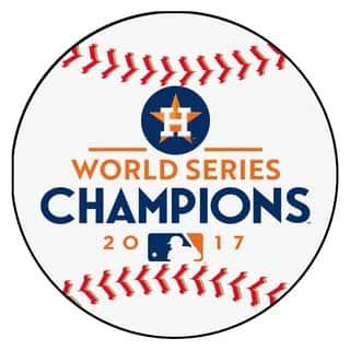 "Houston Astros 2017 World Series Champions Baseball Mat 26"" diameter|https://ak1.ostkcdn.com/images/products/18222124/P24363438.jpg?impolicy=medium"