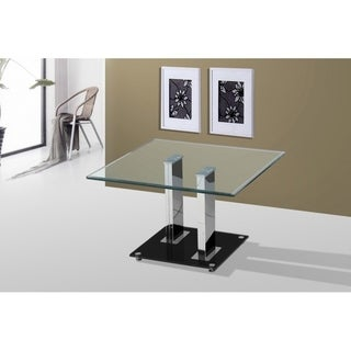 Best Quality Furniture Tempered Glass Top End Table