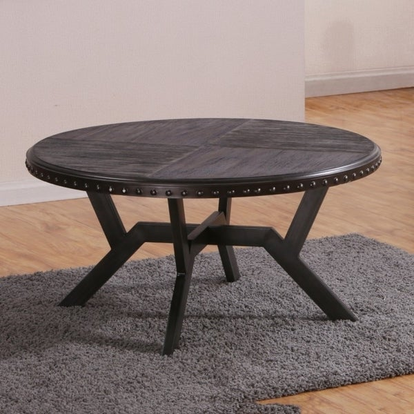 Best Quality Furniture Rustic Gray Cofee Table