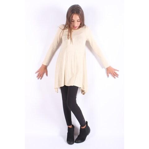 Oatmeal Sidetail Tunic/dress