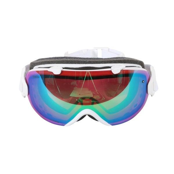 2527492d13714 Smith Optics White Mosaic ChromaPop Everyday I OS Interchangeable Snow  Goggles