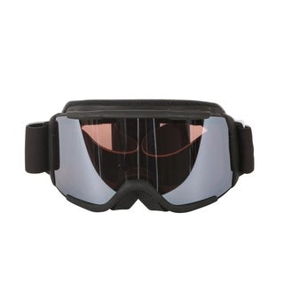 Smith Optics Black Daredevil Youth Medium Fit Goggles with Ignitor Mirror Lenses