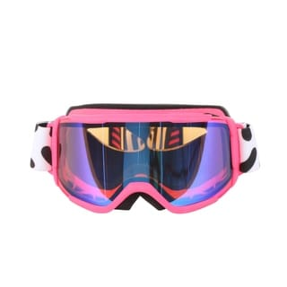 Smith Optics Pink Jam Daredevil Youth Medium Fit Goggles with Blue Sensor Mirror Lenses