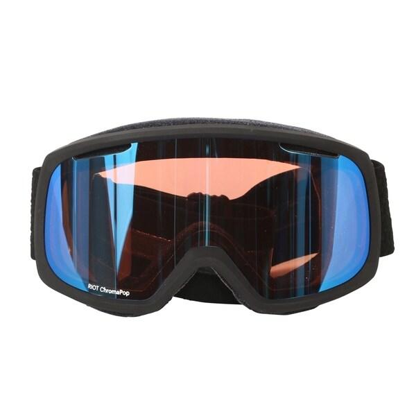 496dd705e01 Smith Optics Black Mosaic ChromaPop Storm Riot Women  x27 s Interchangeable Snow  Goggles