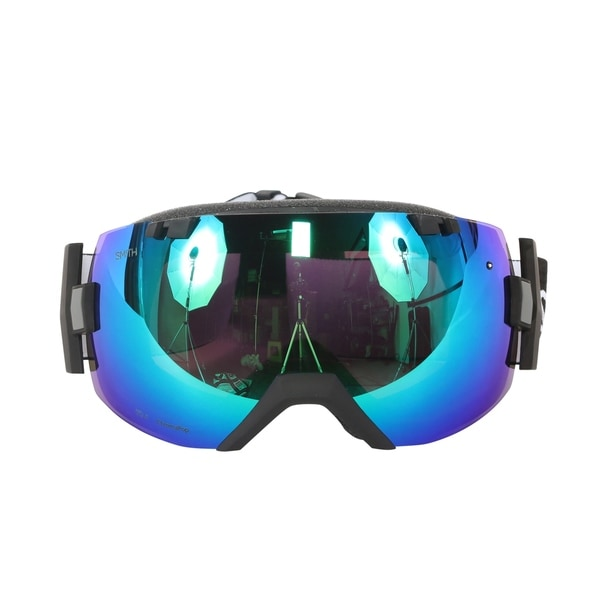 Smith Optics Black ChromaPop Sun I/OX Interchangeable Snow Goggles