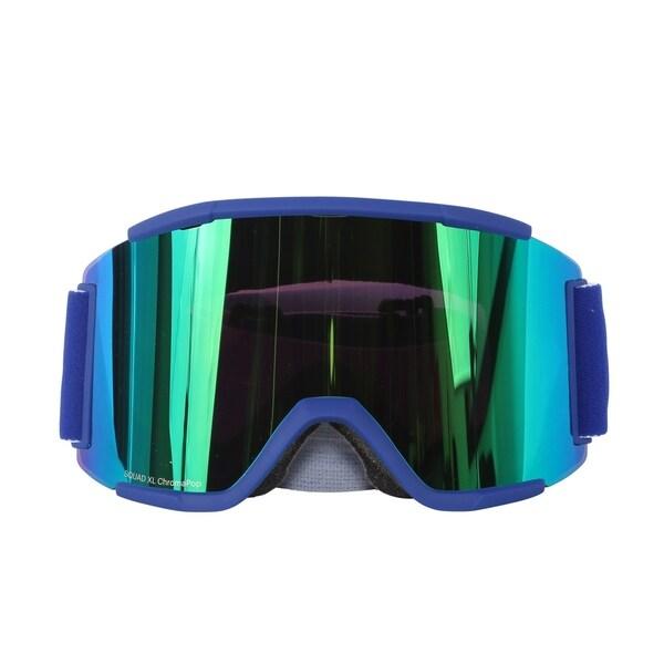 48175bfe8b Shop Smith Optics Klein Blue ChromaPop Sun Split Squad XL Interchangeable Snow  Goggles - Free Shipping Today - Overstock - 18222470