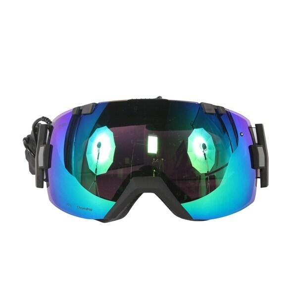 115244287ff4a Shop Smith Optics Black ChromaPop Sun I OX Turbo Fan Interchangeable ...