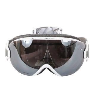 Smith Optics Womens I/OS Snowmobile Goggles - IS7CPPVEN18 - White Venus/ChromaPop Sun Platinum Mirror