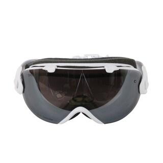 Smith Optics Womens I/OS Snowmobile Goggles - IS7CPPMSW18 - White Mosaic/ChromaPop Sun Platinum Mirror