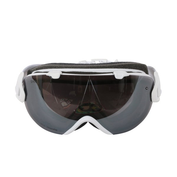 1d208c7149083 Smith Optics Womens I OS Snowmobile Goggles - IS7CPPMSW18 - White  Mosaic ChromaPop Sun